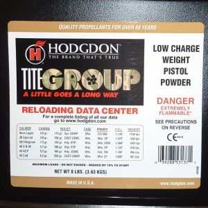 Hodgdon Titegroup 8 lbs pounds